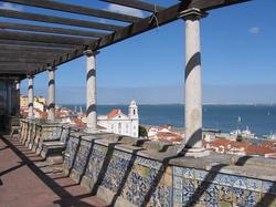 Viewpoint of Santa Lucía (Lisbon)